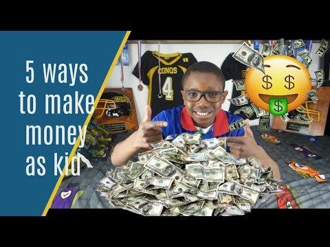 5 ways to make money Make money as a Kid