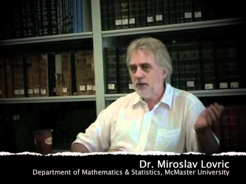 mcmaster University Math - Dr. Miroslav Lovric (Department of Mathematics & Statistics, McMaster University) shares some final thoughts about teaching and learning. Part of a series of...