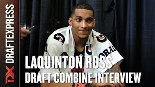 LaQuinton Ross Draft Combine Interview