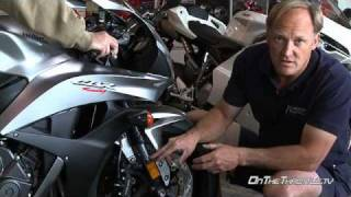 10. 2008 Honda CBR600RR Suspension Evaluation