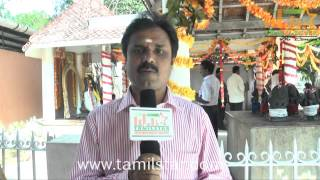 Music Director CV Ravikumar at Malainattan Movie Launch