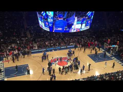 Danny Jacobs & GGG Get Announced During Knicks-Pelicans Game (видео)