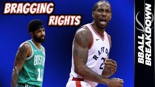 Kawhi Leonard Puts Raptors Over Celtics by BBallBreakdown