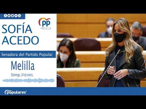 """Acedo: """"El gobierno quiere convertir a Melilla en un campamento de inmigrantes"""""""