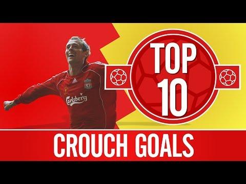Video: Top 10: Peter Crouch goals | Scissor kicks, top bins and towering headers