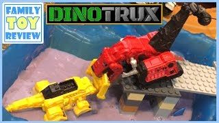 Video DinoTrux Toys Ty-Rux Meets Revvit - Tarpit Rescue Toy Story 다이노트럭 DinoTrux Episode 1 Ty and Revvit MP3, 3GP, MP4, WEBM, AVI, FLV Maret 2018