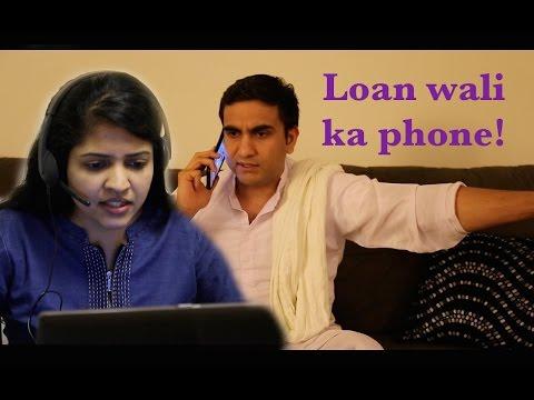 Loan wali ka Phone -   Lalit Shokeen Comedy  