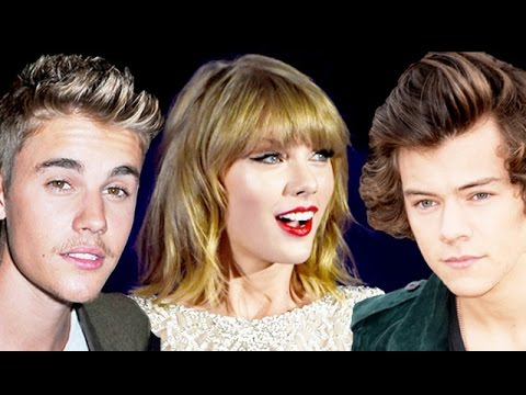 Bieber - Taylor Swift disses Justin Bieber's music on The Voice and ex Harry Styles on David Letterman. Subscribe! http://bit.ly/10cQZ5j Starring Elizabeth Wagmeister Produced & Directed by @ginoorlandi...