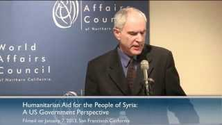 Mark Bartolini: Humanitarian Aid For The People Of Syria
