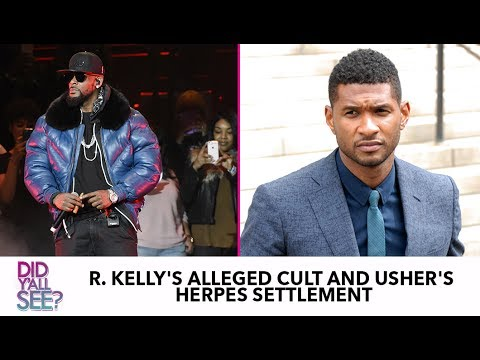 R. Kelly, Kevin Hart And Usher: Celebrity Black Men Week Of Struggle | Did Y'all See?
