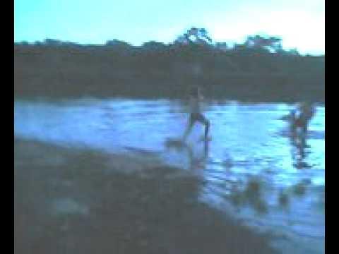 Sao Pedro do Iguaçu corrida sobre as aguas