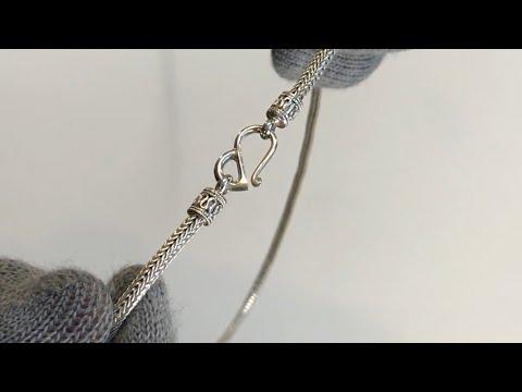 Silver Hand Made Bali Chain