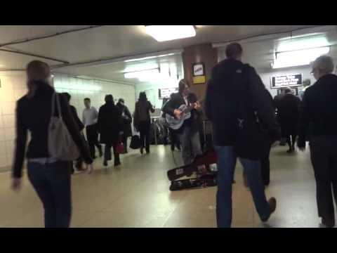 Jason Crawford / 8 String Guitar - Toronto Subway Musician (02.11.2011)