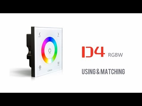 Touch panel RGBW LED  Controller LTECH D4