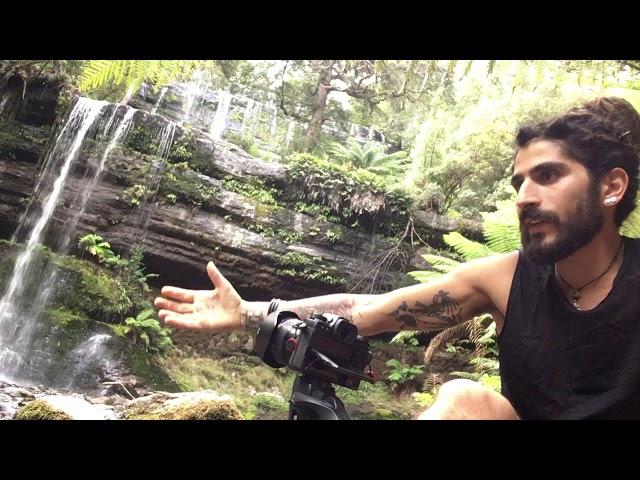 come fotografare una cascata :) dalla tasmania con roberto zampino