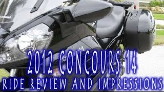 3. 2012 Kawasaki Concours 14 Ride Review and Impressions