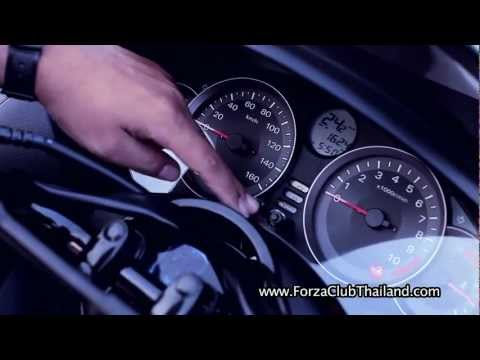 Honda Forza 300i Top Speed Test