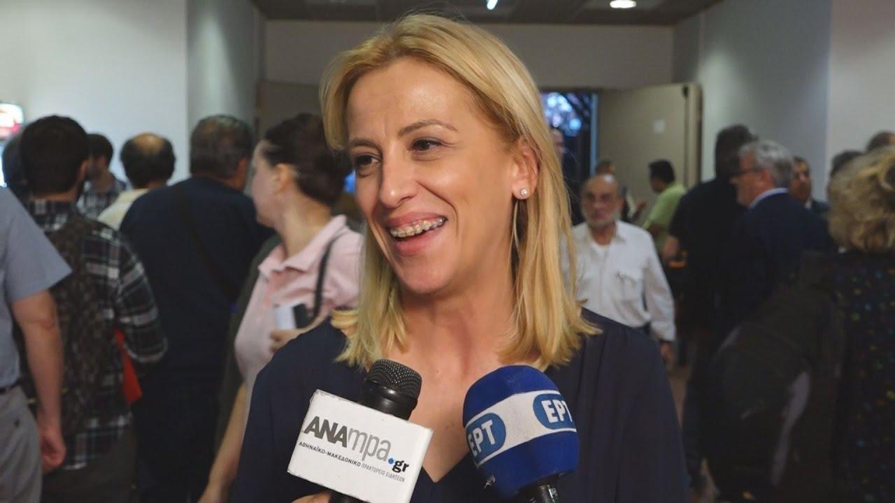 Η Ρένα Δούρου μιλά στο ΑΠΕ -ΜΠΕ για τη σημασία του συνεδρίου του ΣΥΡΙΖΑ