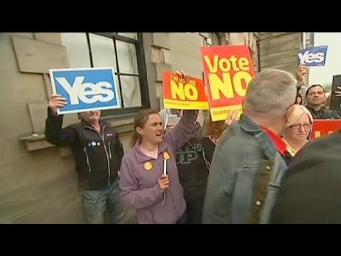 gets - A day before Scotland votes on whether to declare Independence from the United Kingdom, three different opinion polls give the 'No' campaign a four point lead. The political fight has become...