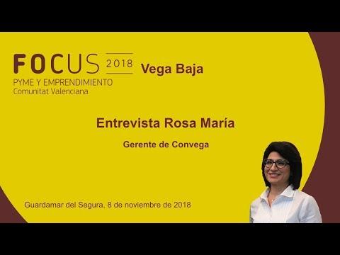 Entrevista Rosa María Fernández, gerente de Convega, en Focus Pyme Vega Baja