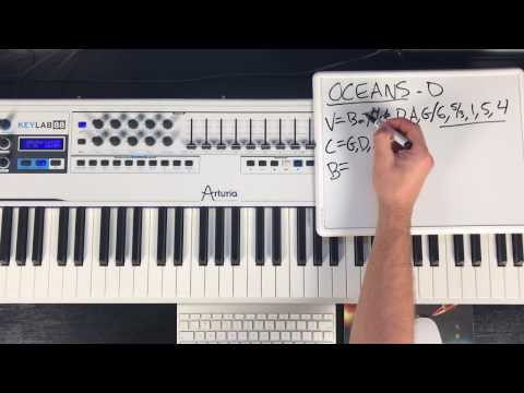 "Piano Lesson Based On: How To Play ""Oceans"" By Hillsong"