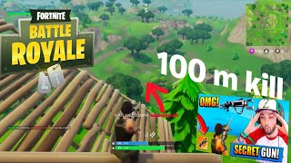 One and only Zapatron sniper kill (FORTNITE BR)