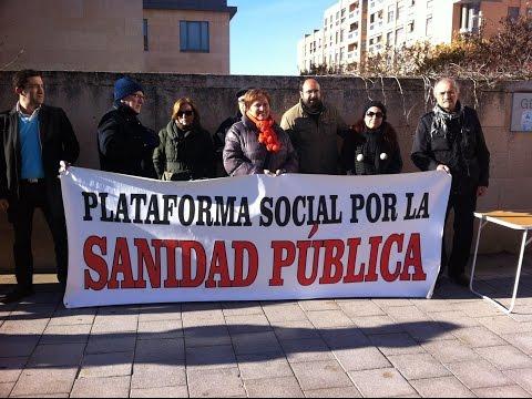 La plataforma Sanidad Pública de León denuncia el recorte encubierto de la sanidad