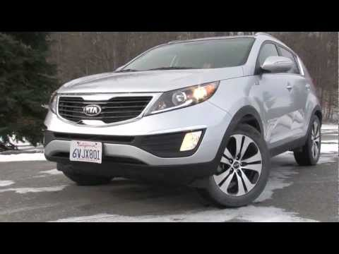 2013 Kia Sportage – Drive Time Review with Steve Hammes