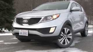 2013 Kia Sportage - Drive Time Review With Steve Hammes