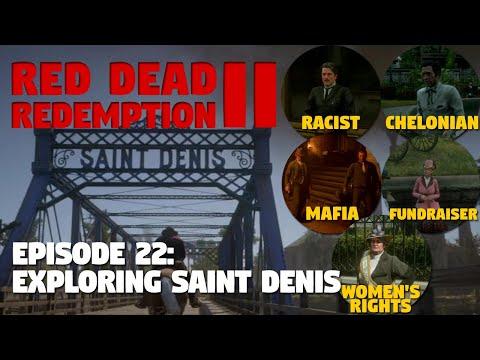 EXPLORING SAINT DENIS ► Red Dead Redemption 2 Gameplay - Episode 22 [PS4 Pro]