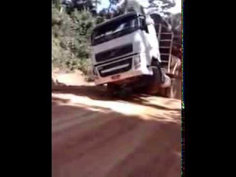 Truck Volvo F440 tiro impressionante!