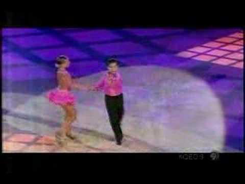 Young Ballroom Dance Couple