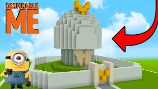 """Minecraft Tutorial: How To Make Vectors Fortress from Despicable Me""""Despicable me"""""""