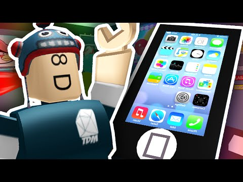 ESCAPE THE GIANT IPHONE?! | Roblox (видео)