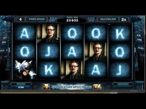 The Dark Knight Rises Slot - Heat Seeking Wild Feature - Mega Big Win (196xBet)