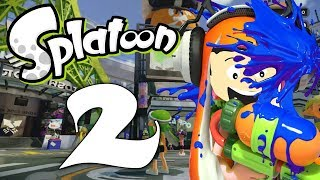 """First look at Splatoon 2! Things are looking good!!You better subscribe: http://bit.ly/28V8keWYou better follow: http://www.twitter.com/JoarnaGamingInstagram: http://www.instragram.com/Joarna_GamingFrom Wikipedia: A set of prologue stories to set up the plot, known as the """"Squid Sisters Stories"""", were released on the official website prior to release, detailing what had happened after the end of Splatoon. The story opened approximately nine months after the final Splatfest event of the previous game, in which Marie proved victorious over her fellow Squid Sister, Callie. While the two girls seemed to carry on as normal afterwards, the usually inseparable Squid Sisters began to spend more and more time apart due to their growing solo careers. With this on her mind, Marie began to worry about whether Callie had been negatively affected by the Splatfest result. However, their worries were temporarily forgotten after the two spent an afternoon together. After going out of Inkopolis to see her parents, Marie returned home to discover Callie had gone missing and the Great Zapfish had once again been stolen. Fearing that the evil Octarians were again involved, and knowing that Inkopolis would react badly to the disappearance of Callie, Marie decided to find an Inkling recruit to infiltrate the Octarians' headquarters, retrieve the Great Zapfish, and to discover what happened to Callie. Like its predecessor, Splatoon 2 is a multiplayer third-person shooter in which players control characters known as Inklings and use colored ink to attack opponents and clear goals. Inklings can alternate between humanoid form, during which they can fire ink with their weapons, and squid form, which allows them to swim through ink of their own color in order to move quickly and replenish ink supplies. The sequel adds new standard, sub and special weapons to the game, including dual-wield pistols, that allow the player to perform dodge rolls, and jetpacks. Like the previous game, the game feat"""
