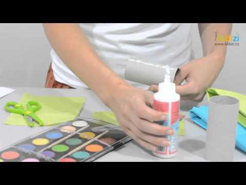 Cum sa confectionezi un binoclu din role de hartie igienica