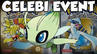How To Get Gold / Silver CELEBI EVENT POKEMON! by Verlisify
