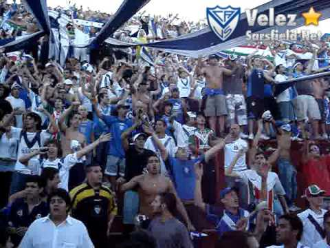 Video - San Lorenzo 0-1 Vélez [Clausura 2009] 1/2 - La Pandilla de Liniers - Vélez Sarsfield - Argentina