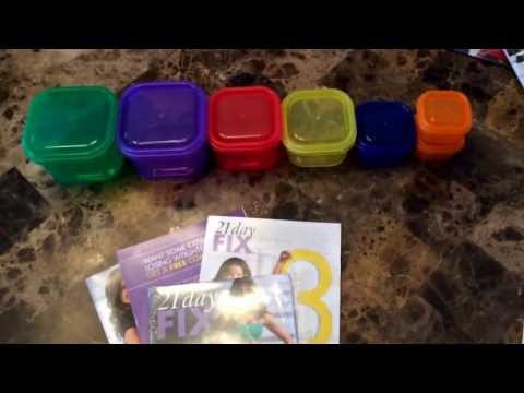21 Day Fix Nutrition Plan - How it Works (Containers Explained)