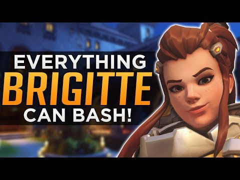 Overwatch: Everything Brigitte CAN & CAN'T Bash!
