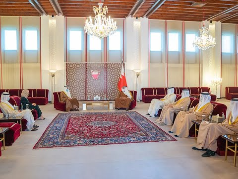 HRH the Deputy King receives the Speaker of the National Assembly of the State of Kuwait