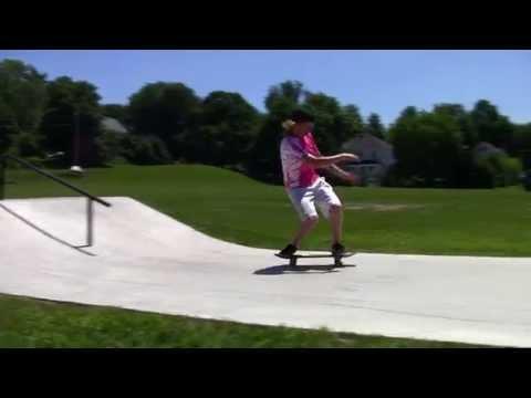 The new Augusta skatepark