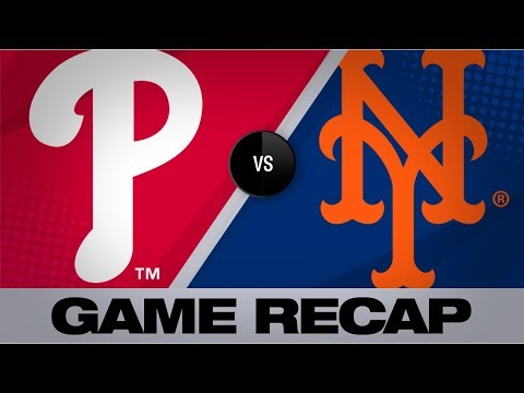 Video: Alonso's walk-off walk wins it for the Mets | Phillies-Mets Game Highlights 9/6/19