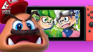 A trio of Nintendo Switch news in this video, bringing you updates on crazy Switch lines and new stock, the Splatoon 2 anime, and Super Mario Odyssey on the cover of EDGE! Let us know what's YOUR take in the comments down below!Dragon Ball FighterZ: http://www.neogaf.com/forum/showthread.php?t=1406637Splatoon 2 New Map: https://youtu.be/7RvLHgwJep8Jackbox Party Pack 1 and 2: https://mynintendonews.com/2017/07/15/jackbox-party-pack-1-2-coming-to-nintendo-switch/FOLLOW US ON TWITTER: http://twitter.com/TheSwitchForceFOLLOW US ON INSTAGRAM: http://instagram.com/SwitchForce