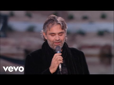This Andrea Bocelli Number Is a Must See For Any Music Lover