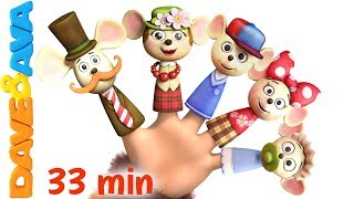 🎯 NEW! THE FARM ANIMALS PUZZLE APP – download for iOS ► https://goo.gl/0tBc0aWelcome Finger Family collection – new version of classic nursery rhyme from Dave and Ava!Subscribe now for new nursery rhymes - https://www.youtube.com/DaveAndAva?sub_confirmation=1🎺 Watch our collection of non-stop nursery rhymes at https://www.youtube.com/watch?v=a3qY1d1X4cs&index=36&t=104s&list=PLURXwwh2i_mcgwdQrVMmh-txx-g1qRcZXIf you like this video, share it link https://www.youtube.com/watch?v=fTy-6Wt27ksWelcome new collection of popular nursery rhymes and action songs. Enjoy our new take at Finger Family song featuring Dave and Ava with little kittens! Make tiny finger puppets to tell your favorite fairytales or act out while singing nursery rhymes. Finger Family is great action song to expand children' s vocabulary!    Go to your favorite nursery rhyme by selecting a title below:00:19        Finger Family Kittens 04:09        If you're happy and you know it 07:17        Marry Had a Little Lamb 09:48        Old Mcdonald had a Farm 12:57        Bingo song  15:46        Humpty Dumpty 18:24        Ten in the Bed21:48        Brother John 24:08        Pussy Cat, Pussy Cat 26:08        The Farmer in the Dell 28:52        Five Little Ladybugs Watch more nursery rhymes from Dave and Ava:👨🌾 The Farmer in the Dell - Trailer  Nursery Rhymes and Baby Songs from Dave and Ava 👨🌾 https://www.youtube.com/watch?v=97ZPSZu1grg😉 The Wheels on The Bus - Part 3  Dave and Ava  Nursery Rhymes and Baby Songs 😉 https://www.youtube.com/watch?v=e2S86QvUQIY🤗 The Wheels on the Bus - Part 3 - Trailer  Nursery Rhymes and Kids Songs from Dave and Ava 🤗 https://www.youtube.com/watch?v=oCdpZMh1Ea8🇬🇧 Five Little Ladybirds - the UK Version  Nursery Rhymes and Baby Songs from Dave and Ava 🇬🇧 https://www.youtube.com/watch?v=PsyyUREmdV8🐞 Five Little Ladybugs  Nursery Rhymes Collection and Kids Songs from Dave and Ava 🐞 https://www.youtube.com/watch?v=x08yatzOEVE🤗 Nursery Rhymes Collection: Baa Baa Black Sheep, Ten in the 