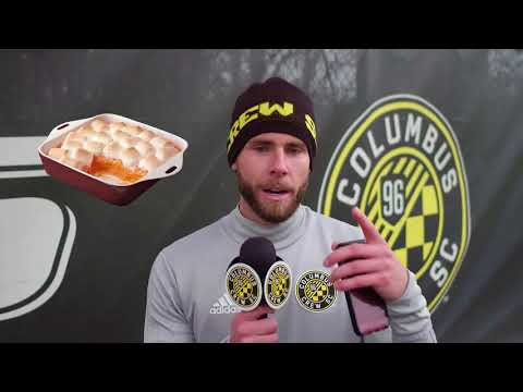 Video: Crew SC players' favorite Thanksgiving dishes
