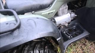 7. 2006 Honda TRX350FE Rancher 350 ES 4x4