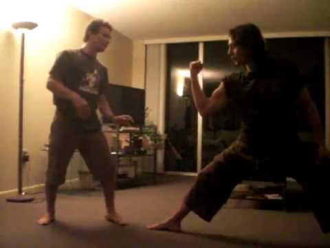 Sensei Donato & Karate Mike (видео)